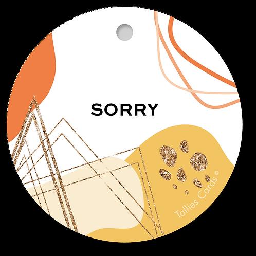 Sorry - Abstract - set van 5 kaarten