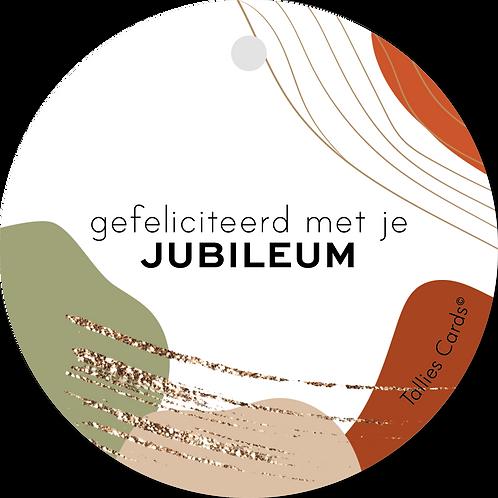 Jubileum - Abstract - set van 5 kaarten