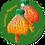 Thumbnail: Feestijke mijlpaal - Flowerpower - set van 5 kaarten