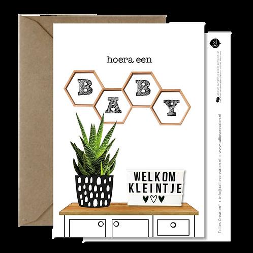 Baby - Plant wenskaarten