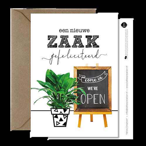 Zaak - Plant wenskaarten