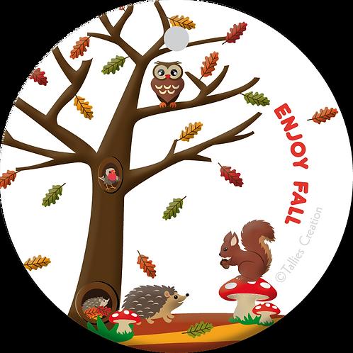 Enjoy Fall - Primo - set van 5 kaarten