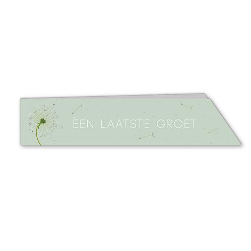 Laatste Groet - groen (10x)