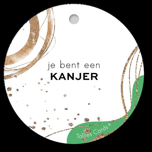 Kanjer - Abstract - set van 5 kaarten