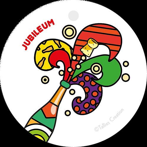 Jubileum - Popart - set van 5 kaarten
