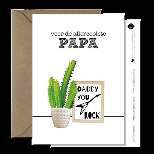 Papa - Plant wenskaarten