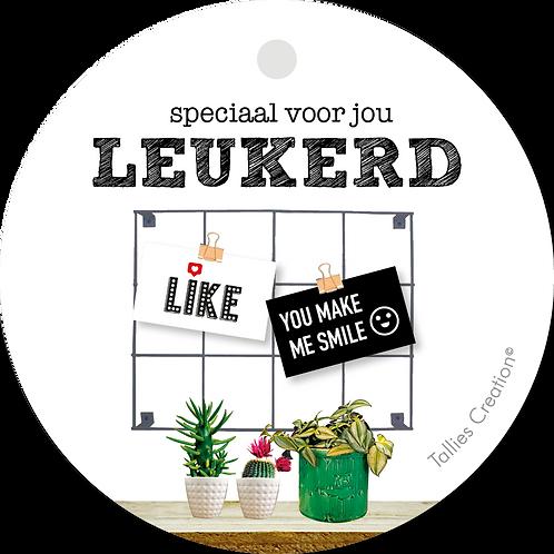 Leukerd - Plant - set van 5 kaarten