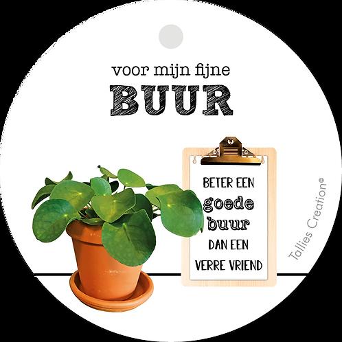Buur - Plant - set van 5 kaarten