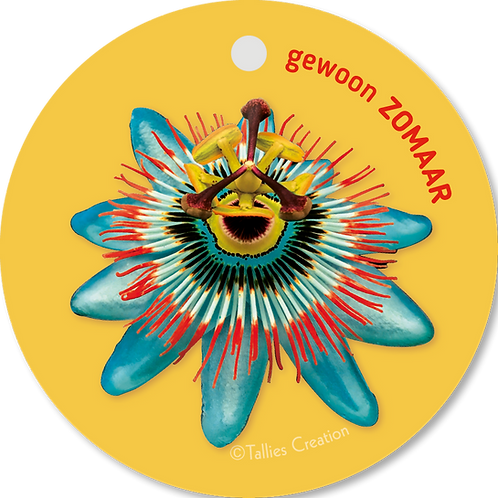 Gewoon zomaar - Flowerpower - set van 5 kaarten