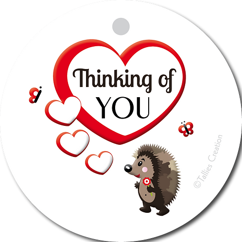 Thinking of you - Primo - set van 5 kaarten