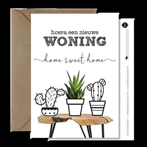 Woning - Plant wenskaarten