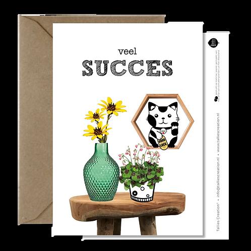 Succes - Plant wenskaarten