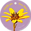 Thumbnail: Thank you sooo much - Flowerpower - set van 5 kaarten