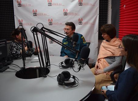 Представители школьного лесничества «Бересклет» дали интервью на радио