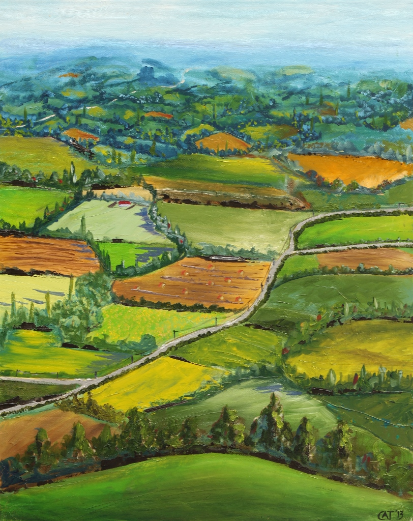 The Green Fields of France