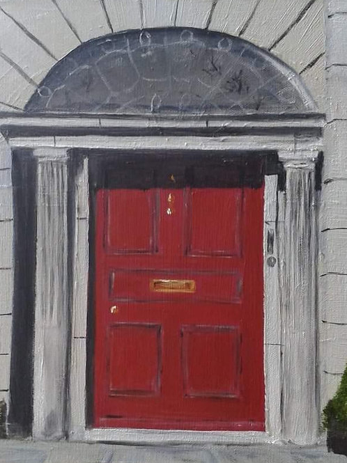 Limerick Georgian Door,  Pery Square