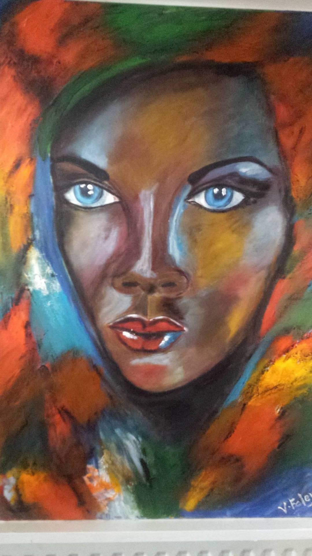 Portrait in Oil VF