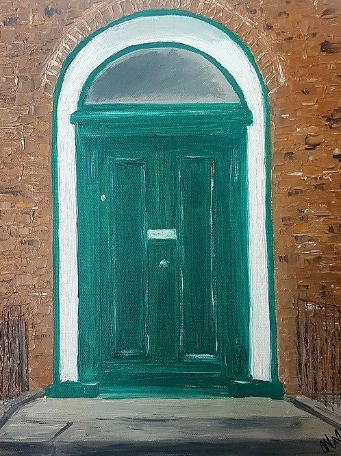 Limerick Georgian Door,  Glentworth Street