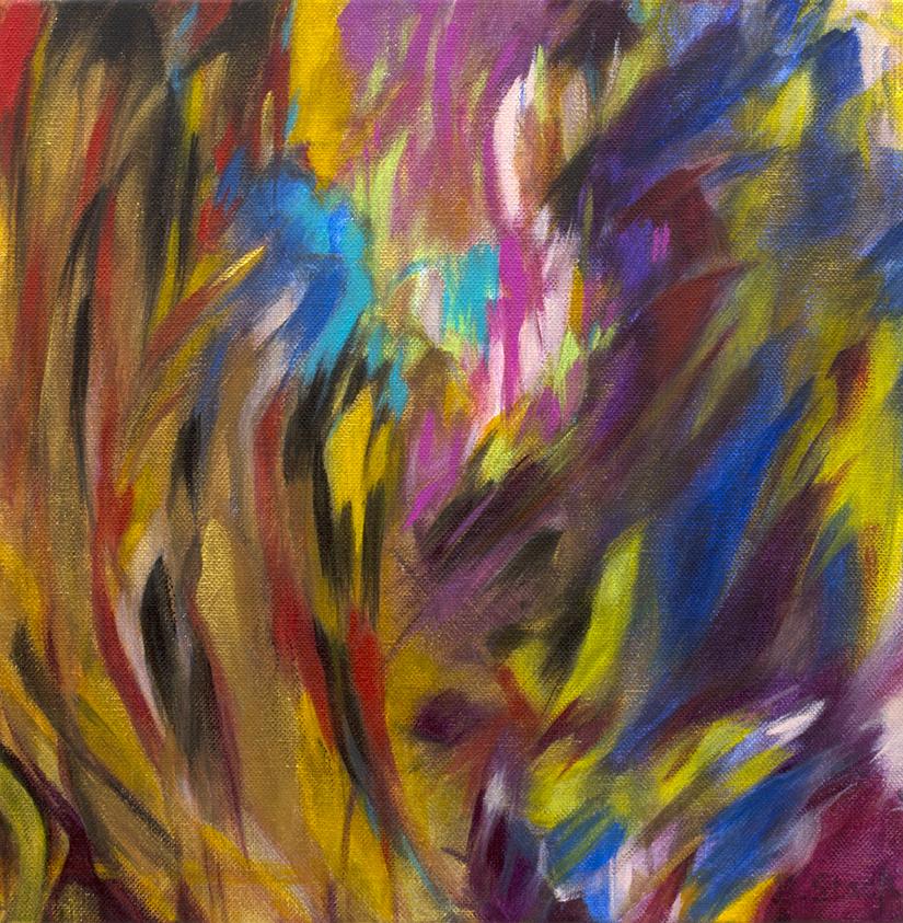 Gold Rush (30 x 30 cm)