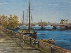 Frank Bouchier, O Callaghan Strand, Watercolour
