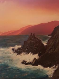 Slea Head Rocks at Sunset_edited