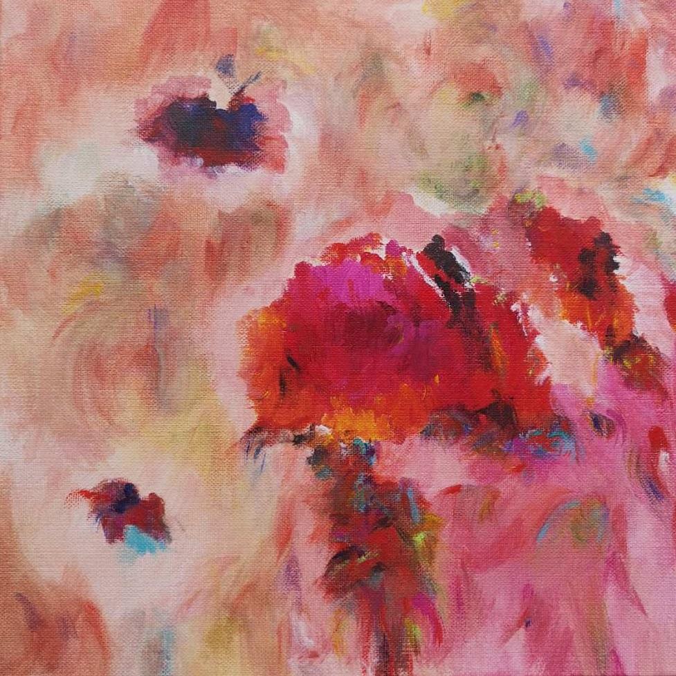 Pink World (30 x 30 cm)