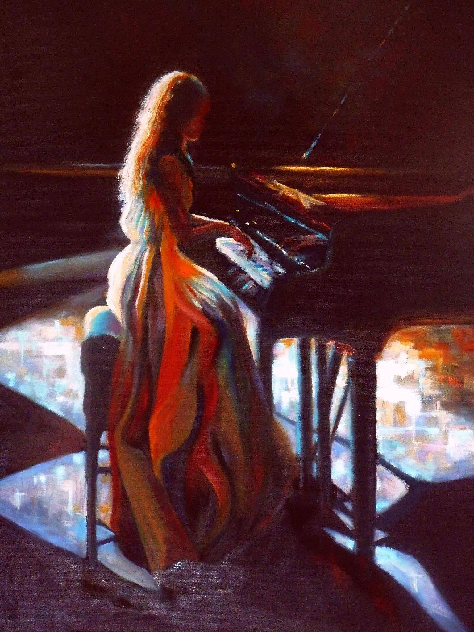 Piano Girl, Denise Coppola