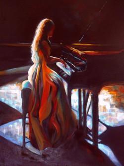 Piano Girl, Denise Coppola