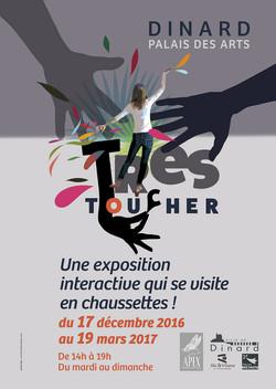 Affiche Trés Toucher Dinard