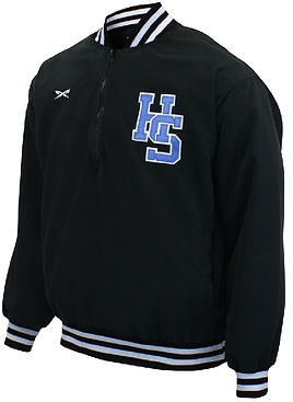 EXTRA INNING 3/4 ZIP BASEBALL JACKET