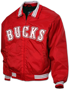 BUCKS FULL ZIP BASEBALL JACKET
