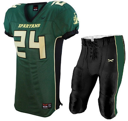 BOMBER FOOTBALL UNIFORM