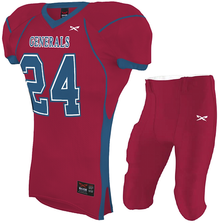 EAGLE FOOTBALL UNIFORM