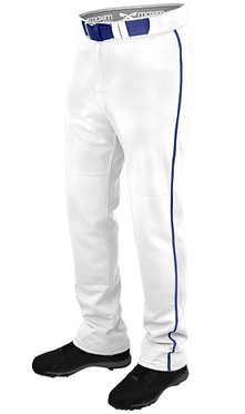 Maxim Youth Power Baseball Pant Piped White