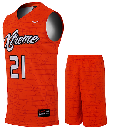 EXTREME BASKETBALL UNIFORM