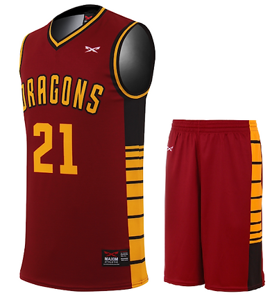 DRAGON BASKETBALL UNIFORM