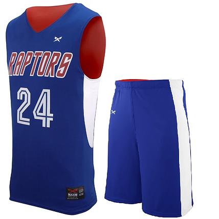 RAPTOR BASKETBALL UNIFORM