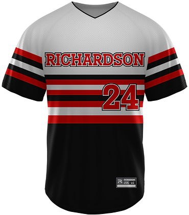 RICHARDSON PRO SELECT V-NECK SUBLIMATED JERSEY