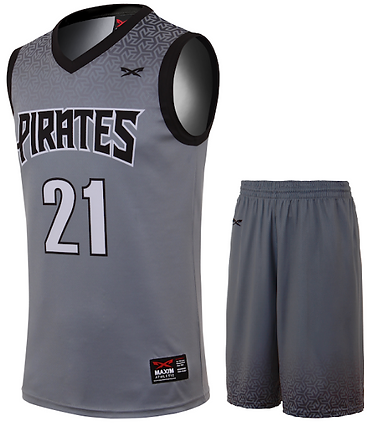PIRATE BASKETBALL UNIFORM