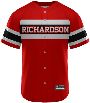 RICHARDSON PRO SELECT FULL BUTTON SUBLIMATED JERSEY