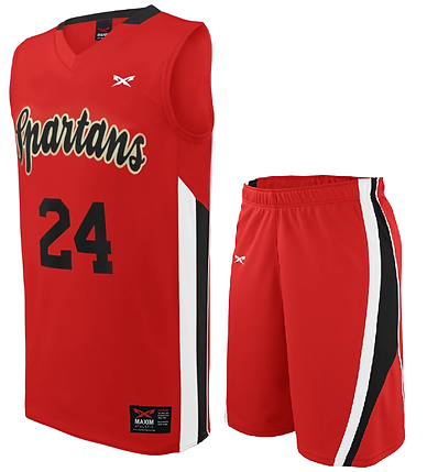 SPARTAN BASKETBALL UNIFORM