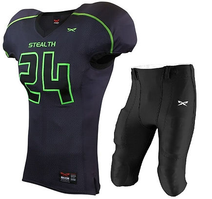 STEALTH FOOTBALL UNIFORM