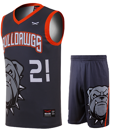 DAWGS BASKETBALL UNIFORM