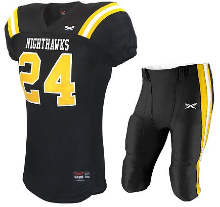 NIGHTHAWK FOOTBALL UNIFORM
