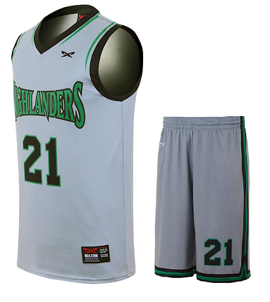 HIGHLANDER BASKETBALL UNIFORM