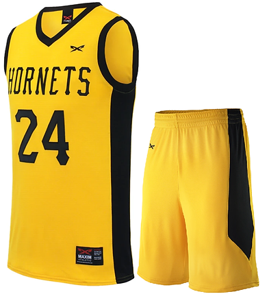 HORNET BASKETBALL UNIFORM