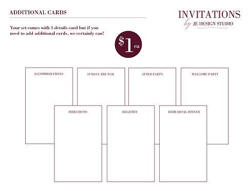Additional Card