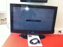 Reparação de Televisão LCD Samsung 32  que teimava em aumentar o som até o máxim
