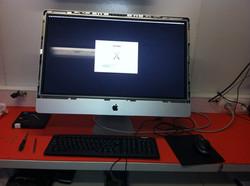 Instalação do OS X Mavericks em disco SSD 120Gb mantendo no Imac 27. o disco 1TB