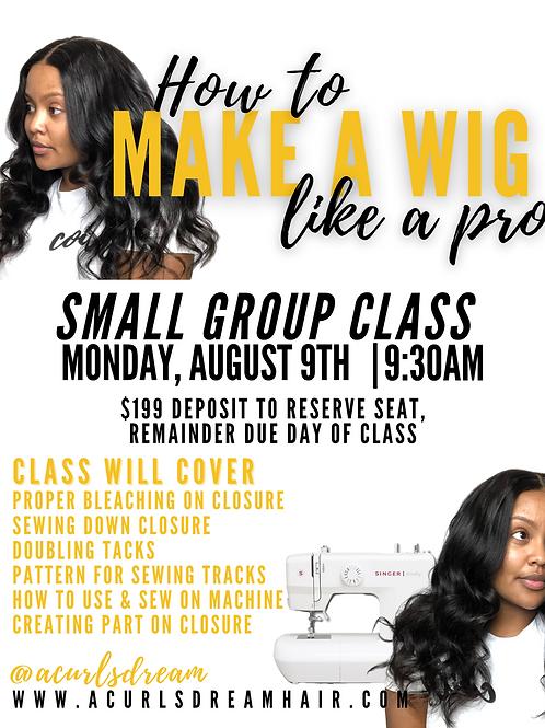 CLASS - Mon August 9th